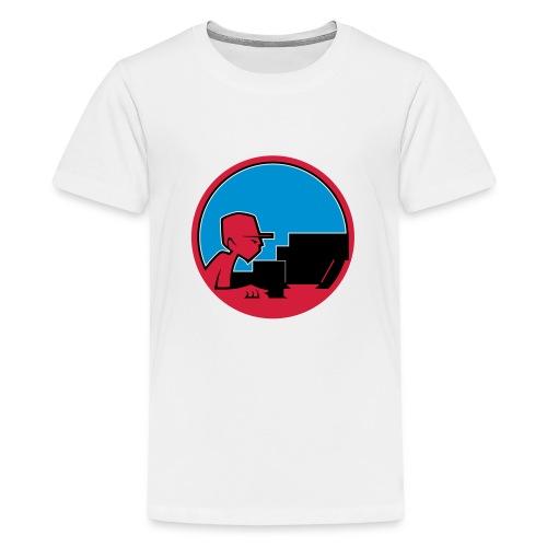 Raw Material Character Studio - Teenage Premium T-Shirt