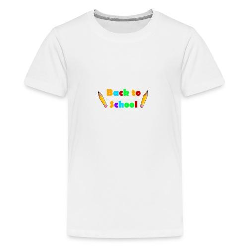 schulbeginn - Teenager Premium T-Shirt