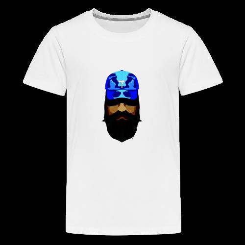 T-shirt gorra dadhat y boso estilo fresco - Camiseta premium adolescente
