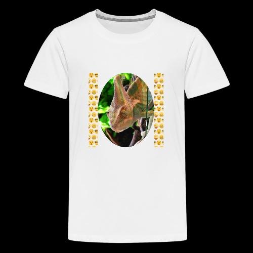 Pascal das Chamäleon - Teenager Premium T-Shirt