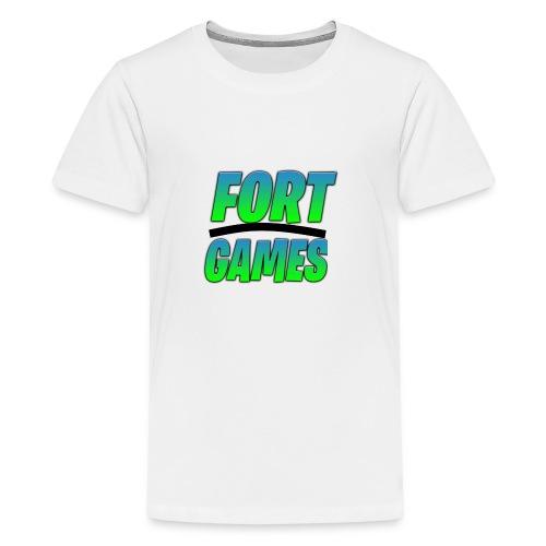 FortGames Merch - Teenager Premium T-Shirt