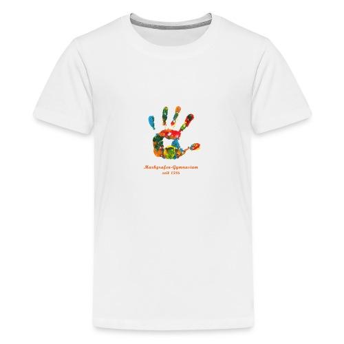 Schule ohne Rassismus Schule mit Courage - Teenager Premium T-Shirt