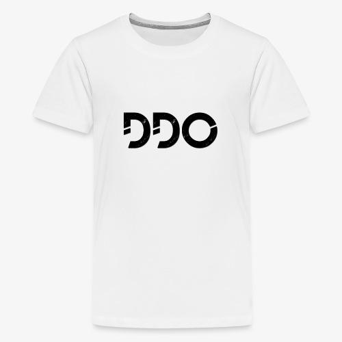 DDO in het zwart. - Teenager Premium T-shirt