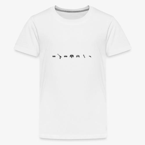 game control - Camiseta premium adolescente