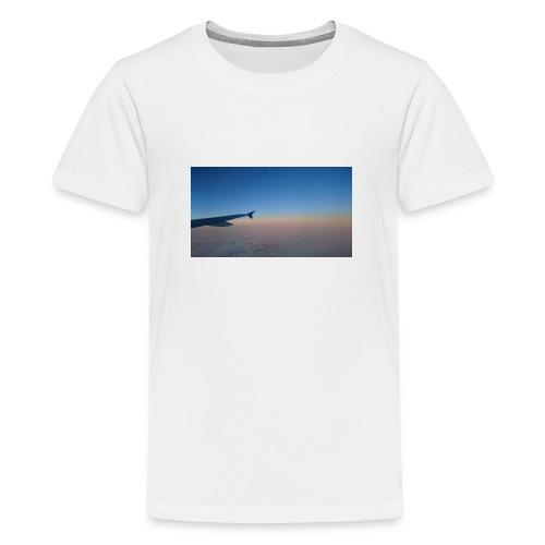 Sonnenaufgang überm Mittelmeer - Teenager Premium T-Shirt