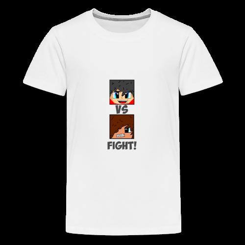 The Pixel FIGHT! - Teenage Premium T-Shirt