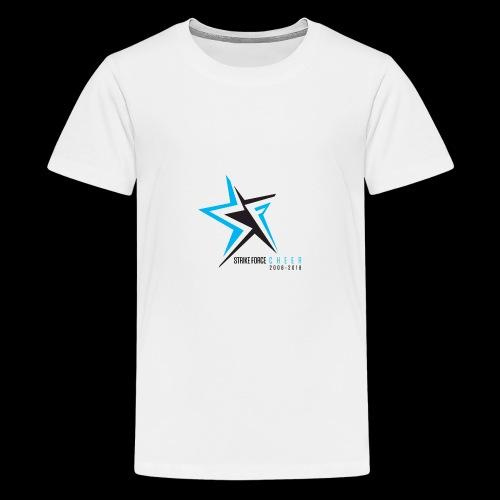 Strike Force 10 YR Logo 02 - Teenage Premium T-Shirt