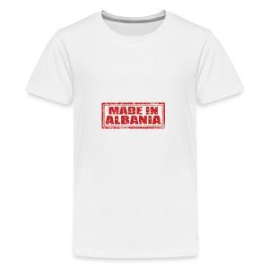 Made in Albania - Teenager Premium T-Shirt