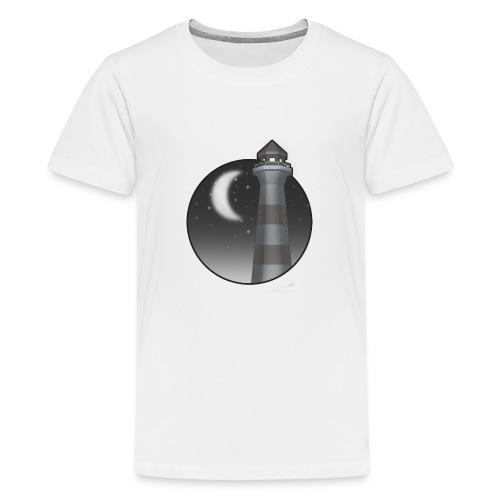 fyr i natten - Premium-T-shirt tonåring