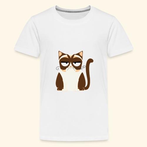 Cat - Teenage Premium T-Shirt