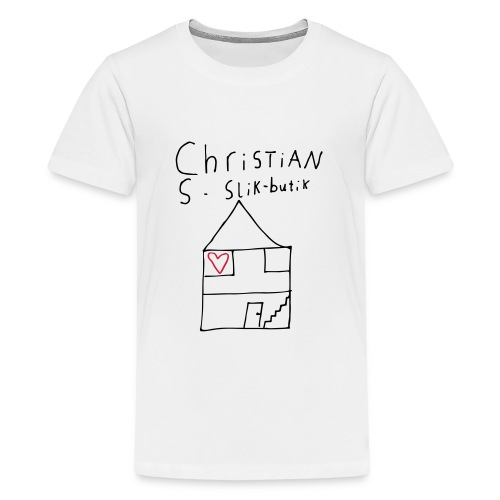 CHRISTIANS SLIKBUTIK ® - Teenager premium T-shirt