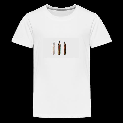 pencil - Maglietta Premium per ragazzi