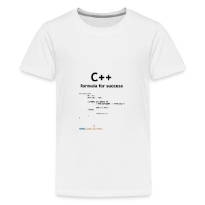 C++ Programmer's formula for success - Teenage Premium T-Shirt