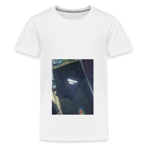Big k Hoodie - Teenage Premium T-Shirt