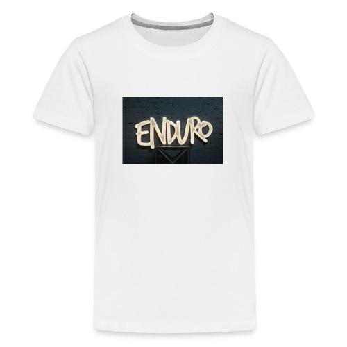 Koszulka z logiem Enduro. - Koszulka młodzieżowa Premium