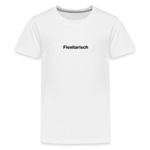 Flexitarisch - Teenager Premium T-Shirt