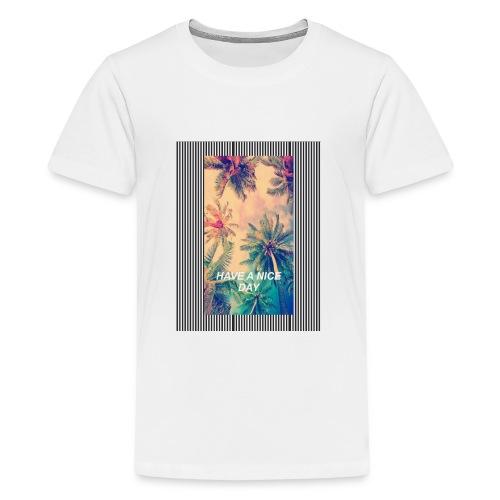 QUE TENGAS UN BUEN DIA - Camiseta premium adolescente