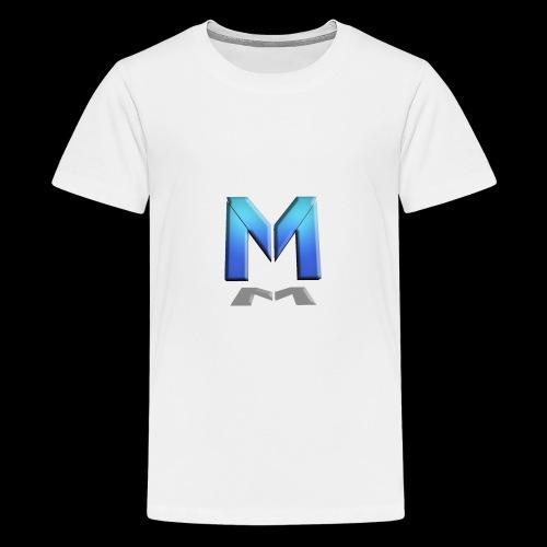 MRH Gaming Front 2017 Logo - Teenage Premium T-Shirt