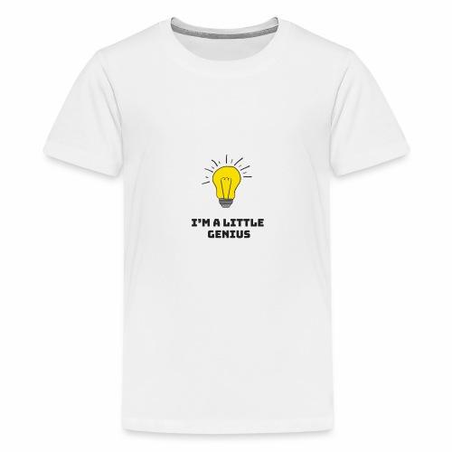 Je suis un petit génie - T-shirt Premium Ado