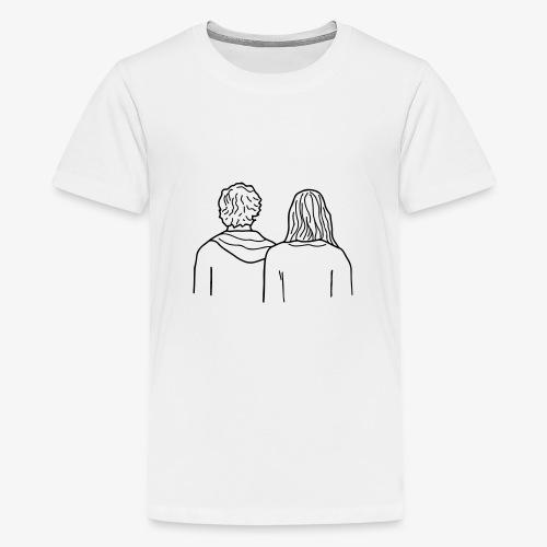 HEADY WHISPERS - T-shirt Premium Ado