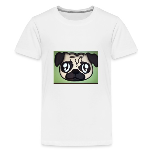 Pugly boss - Teenage Premium T-Shirt