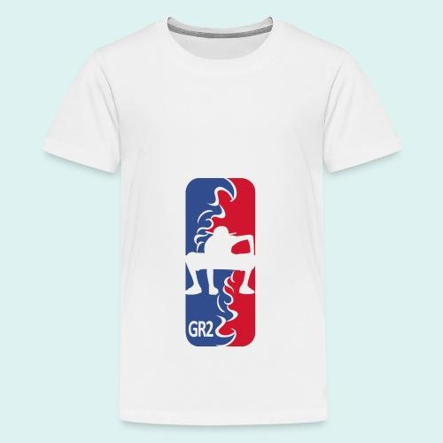 Gear Second League - Teenager Premium T-Shirt