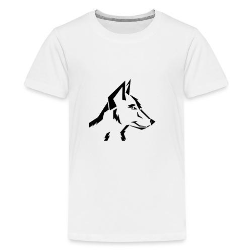 ArtDog WolfTribal - Teenager Premium T-Shirt