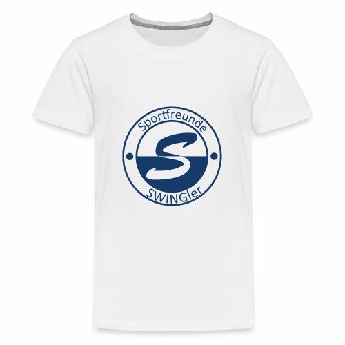 Sportfreunde SWING'ler - blau - Teenager Premium T-Shirt