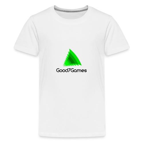 Good7Games logo - Teenager Premium T-shirt