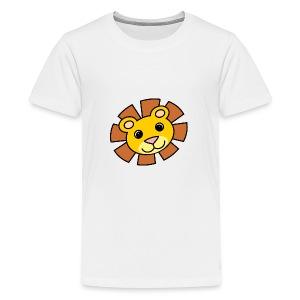 funimals_lejon_f--rg_-2- - Premium-T-shirt tonåring