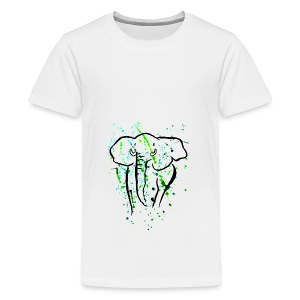 Blob Elefant - Teenager Premium T-Shirt