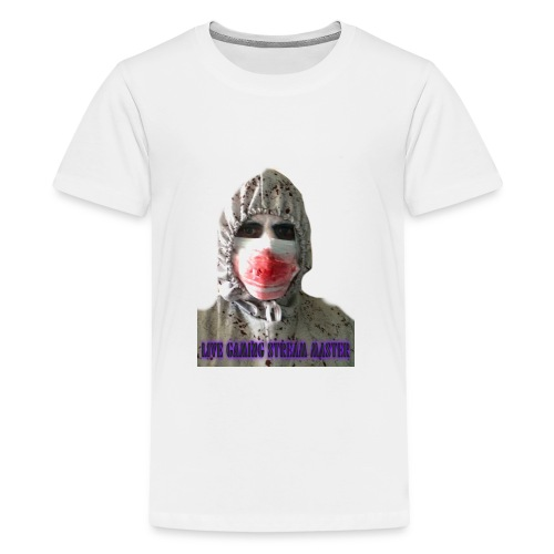 zombie live gaming stream master - Teenage Premium T-Shirt