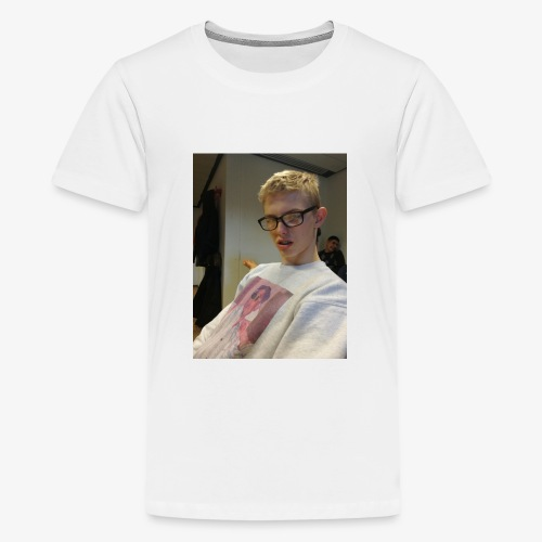 MY FRIEND IS Weird - Teenager premium T-shirt