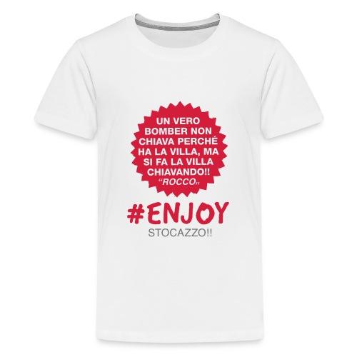 EnjoyStoCazzo 8 - Maglietta Premium per ragazzi