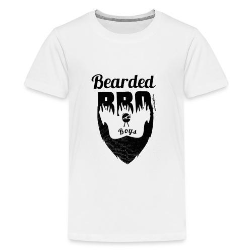 Berded BBQ Boys BLack Edition - Teenager Premium T-Shirt