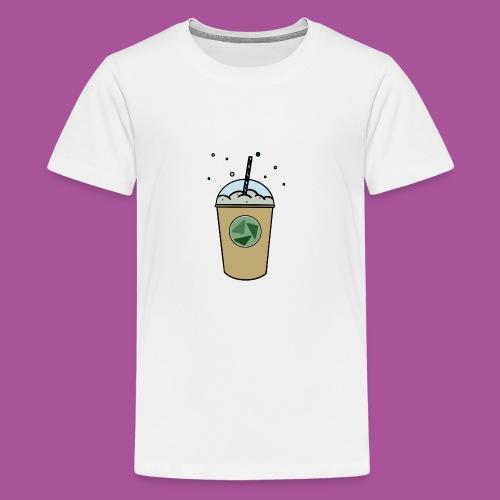 Grüner_Becher - Teenager Premium T-Shirt