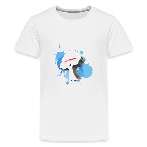 CrackBaumBlau - BAUM - Teenager Premium T-Shirt