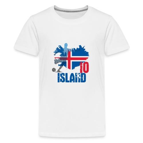 Island Tee 10 - Teenager Premium T-Shirt