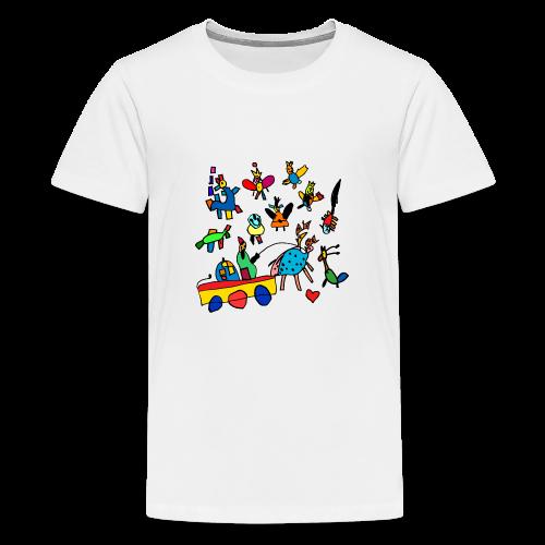 kidsworld - Teenager Premium T-Shirt