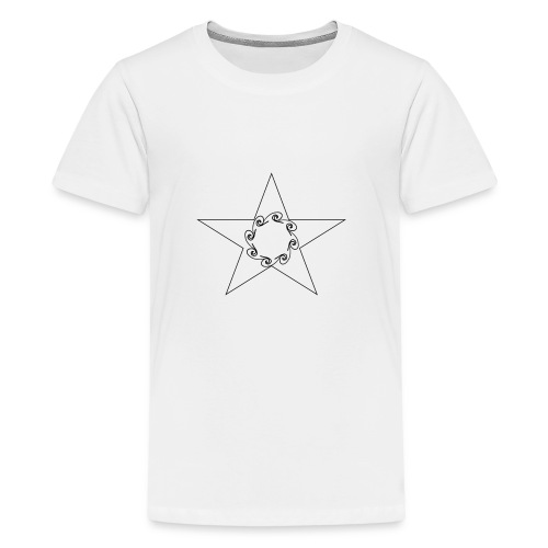 Star - T-shirt Premium Ado