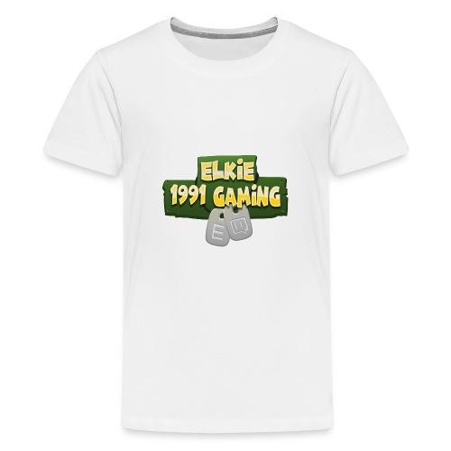Elkie1991 Gaming Logo - Teenage Premium T-Shirt