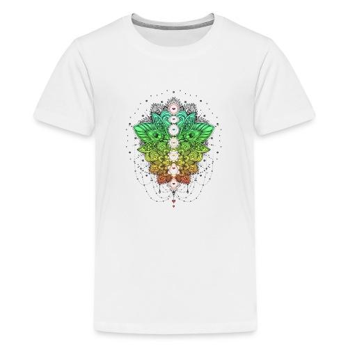 LOTUSBLUME CHAKRAS - Teenager Premium T-Shirt