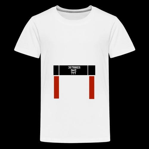 """DNZ"" 777 x 3STRIKES - Premium-T-shirt tonåring"