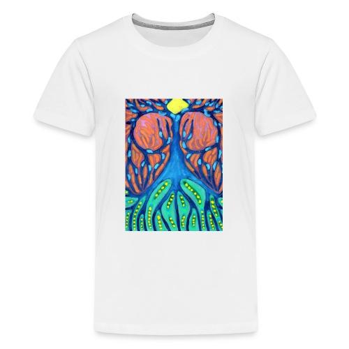Drapiężne Drzewo - Koszulka młodzieżowa Premium