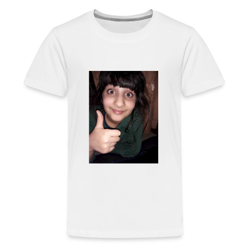 My sis face :-) - Teenage Premium T-Shirt