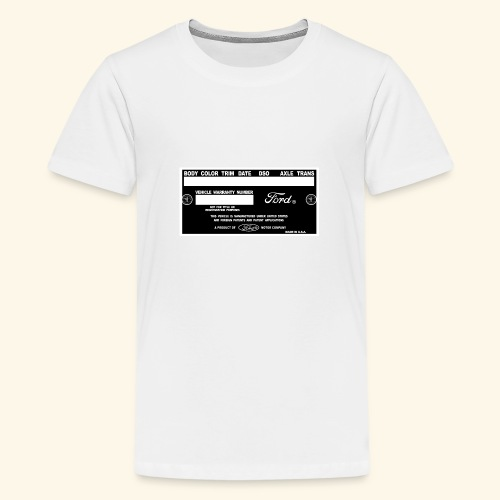 Doortag 1964-65 - Teenager Premium T-Shirt