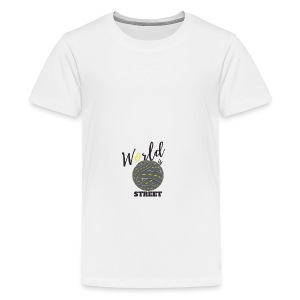 World is Street - T-shirt Premium Ado