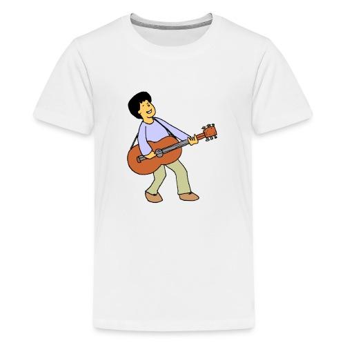play music - Teenage Premium T-Shirt