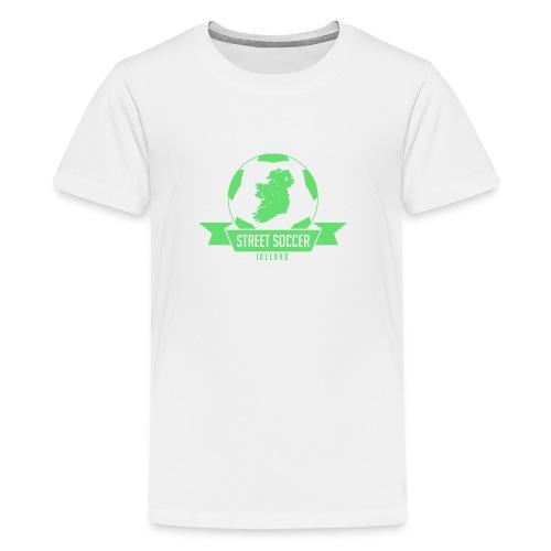 Street Soccer Ireland - Teenage Premium T-Shirt