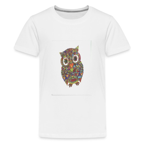 Uglen - Teenager premium T-shirt